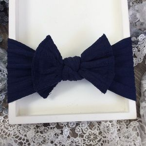 Other - Boutique Baby Girls Navy Blue Headband